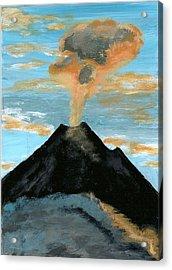 Arenal Volcan I Acrylic Print by Susan Macdonald