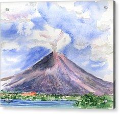 Arenal Volcano Costa Rica Acrylic Print