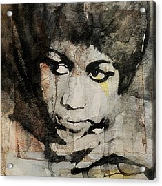 Aretha Franklin - Don't Play That Song For Me  Acrylic Print