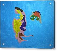 Aretha Franklin Day Dreaming Acrylic Print by Stormm Bradshaw