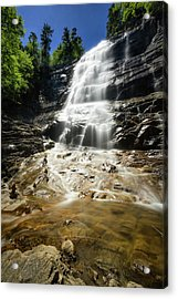 Acrylic Print featuring the photograph Arethusa Falls by Robert Clifford
