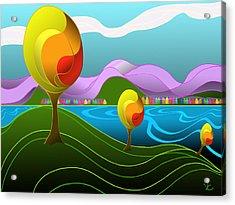 Arfordir Iv Acrylic Print