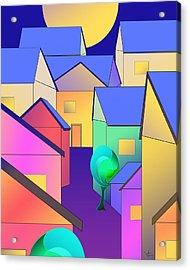 Arfordir Vi Acrylic Print
