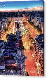 Argentina National Congress Acrylic Print