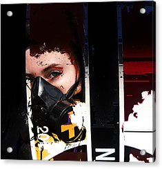 Argon Acrylic Print by Adam Kissel