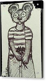 Argyle Acrylic Print by Aimee Fields