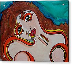 Arial Acrylic Print by Valerie Wolf