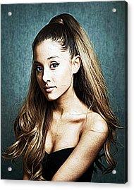 Ariana Grande Acrylic Print