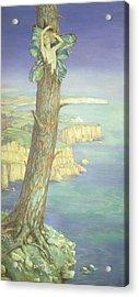 Ariel Acrylic Print by Maud Tindal Atkinson