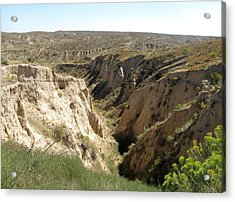 Arikaree Breaks Canyon Acrylic Print
