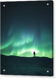 Arise Acrylic Print by Tor-Ivar Naess