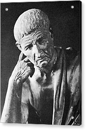 Aristotle, Acrylic Print by