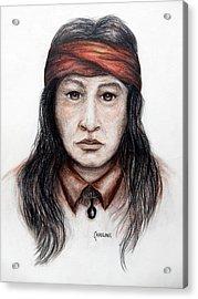 Arizona Apache Acrylic Print