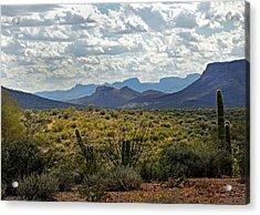 Arizona Calling Acrylic Print by Gordon Beck