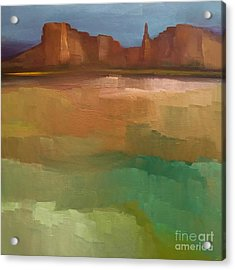 Arizona Calm Acrylic Print