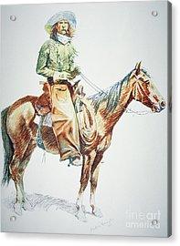 Arizona Cowboy, 1901 Acrylic Print