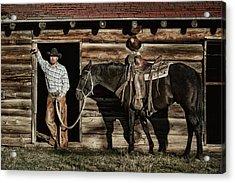 Arizona Cowboy Acrylic Print
