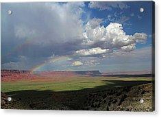 Arizona Double Rainbow Acrylic Print