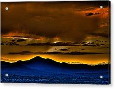 Arizona Dusk Acrylic Print
