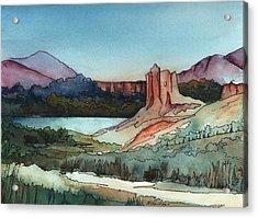 Arizona Hills Acrylic Print by Robynne Hardison