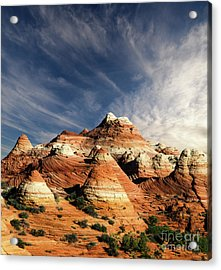 Arizona North Coyote Buttes Acrylic Print by Bob Christopher