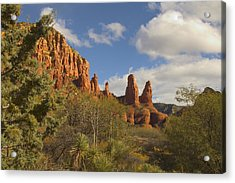 Arizona Outback 2 Acrylic Print by Mike McGlothlen