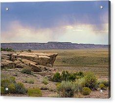 Arizona Rain Acrylic Print