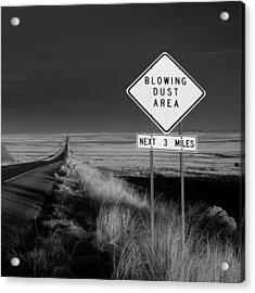 Arizona Road Acrylic Print