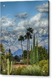 Arizona Snow Acrylic Print