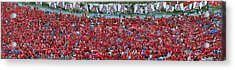 Arizona Stadium Triptych Part 3 Acrylic Print by Stephen Farley