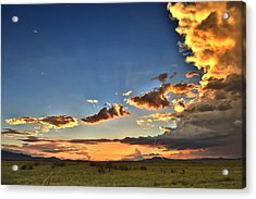 Arizona Sunset Storm Acrylic Print
