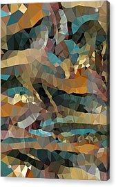 Arizona Triangles Acrylic Print