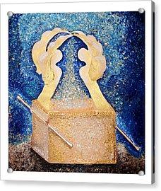 Ark Of The Covenant  Acrylic Print by Alisa Poplavskaya