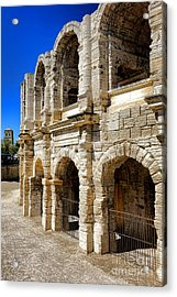 Arles Roman Amphitheater Acrylic Print by Olivier Le Queinec