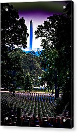 Arlington Acrylic Print by David Hahn
