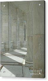 Arlington Memorial Amphitheater Hall Acrylic Print