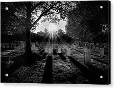 Arlington National Cemetery Acrylic Print by Paul Seymour