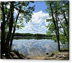 Arlington Reservoir Acrylic Print