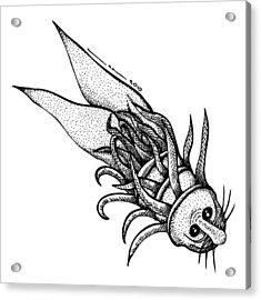 Arm Fish Acrylic Print by Karl Addison