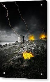 Armageddon Acrylic Print by Jaroslaw Grudzinski