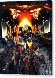 Armageddon Acrylic Print by Mason BenYair