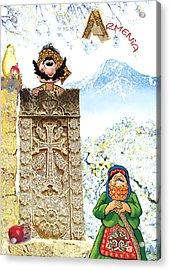 Armenia Acrylic Print