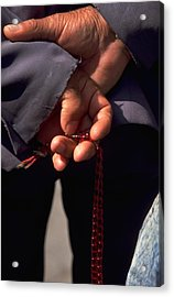 Armenian Prayer Beads Acrylic Print