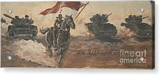 Armored Cavalry Acrylic Print by Unknown