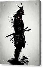 Armored Samurai Acrylic Print by Nicklas Gustafsson