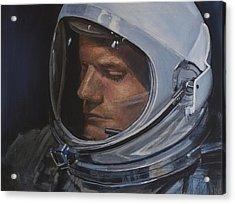 Armstrong- Gemini Viii Acrylic Print by Simon Kregar
