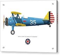 Army Air Corps Pt-17 Acrylic Print
