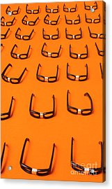 Army Of Nerd Glasses Acrylic Print