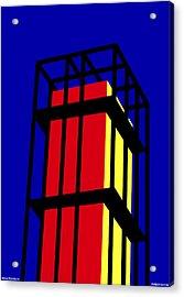 Arne Jacobseb Tower Acrylic Print by Asbjorn Lonvig
