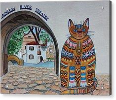 Arneson Theatre Cat Acrylic Print